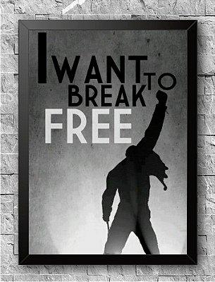 Quadro Queen Freddie Mercury (2)