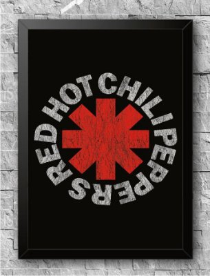 Quadro Red Hot Chili Peppers (1)