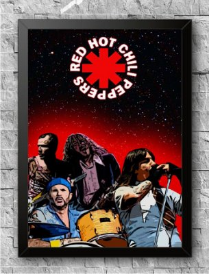 Quadro Red Hot Chili Peppers (2)