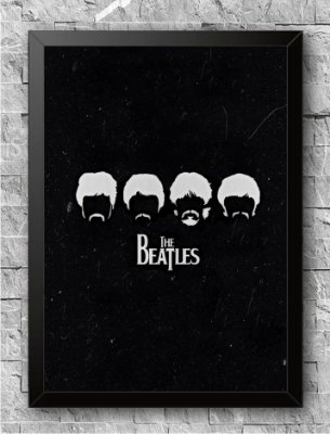 Quadro The Beatles (3)