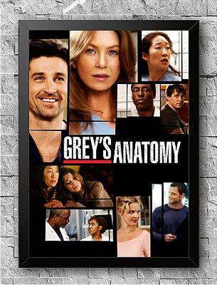 Quadro Grey's Anatomy (4)