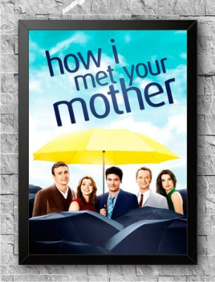 Quadro How I Met Your Mother (1)