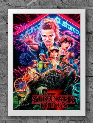 Quadro Stranger Things (2)