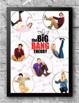 Quadro The Big Bang Theory (1)