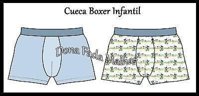 CUECA BOXER INFANTIL