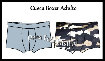 CUECA BOXER ADULTO