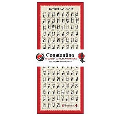 Pergaminho c/ 116 Técnicas p/ Mudjong
