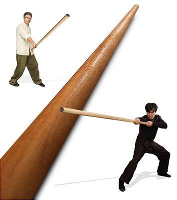 Bastão Longo Wing Chun | Luk Din Boon Kwan- 六點半棍)