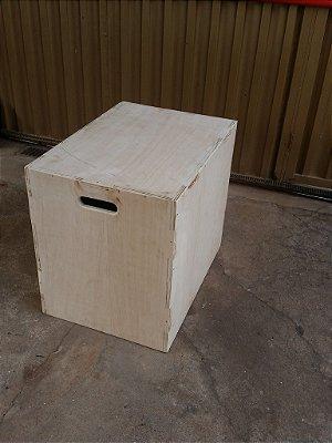 CAIXA PLYO BOX JUMP de 75 cm x 60 cm x 50 cm
