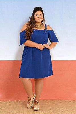 Vestido Ciganinha Azul