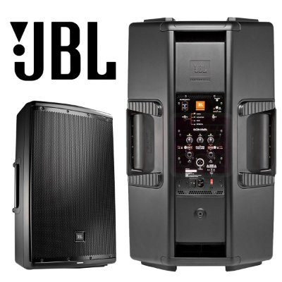Caixa Ativa JBL 15 Polegadas 500W RMS EON615 Bivolt