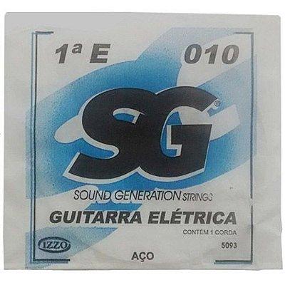 Corda Avulsa Guitarra 1ª MI 010 - SG