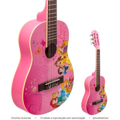 Violão Infantil PHX VIP-3 Princesas Disney Princess