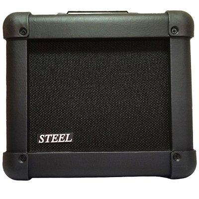"""Amplificador para Guitarra Steel 20 GT 6"""" 15W RMS Preto - WR"""