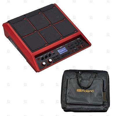 Kit Bateria Eletronica Edição Especial Roland SPD-SX SE + Bag Luxo Preta