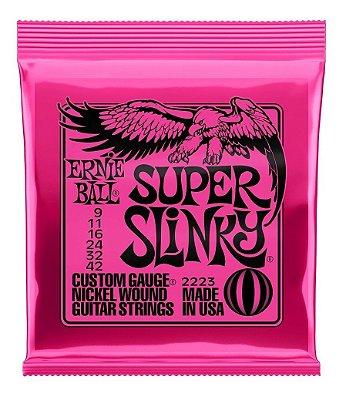 Encordoamento Guitarra 009-042 Super Slink Niquel P02223 - Ernie Ball