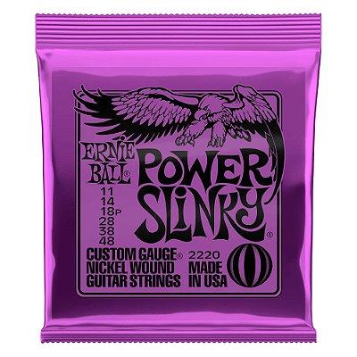 Encordoamento Guitarra 011-048 Power Slink Niquel P02220 - Ernie Ball
