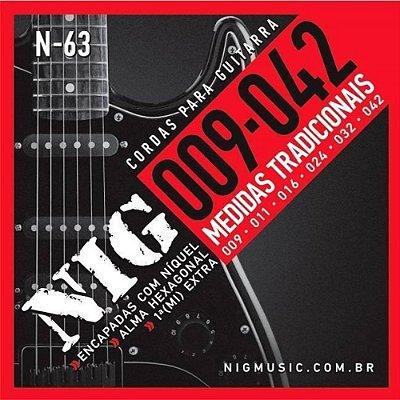 Encordoamento  Guitarra 09 N63 - NIG