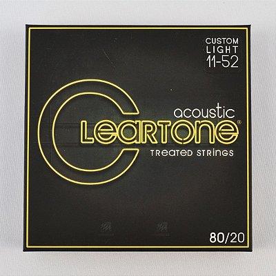 Encordoamento Violão 011-52 Bronze 80/20 Extra Light - Cleartone