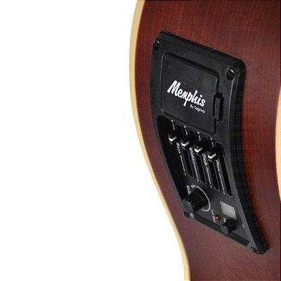 Violao nylon elétrico AC-60 NS Memphis - Tagima