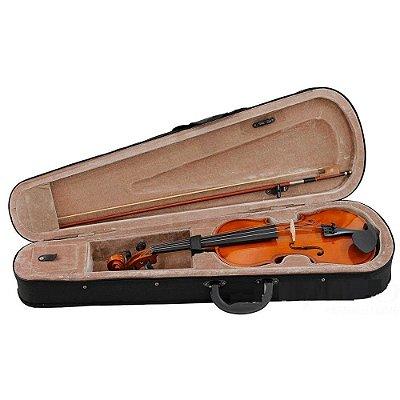 Violino 1/2 Estudante Completo com Estojo e Arco - Dominante