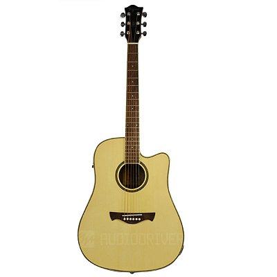 Violão Elétrico Folk WS-20 NA Walnut Séries - Tagima