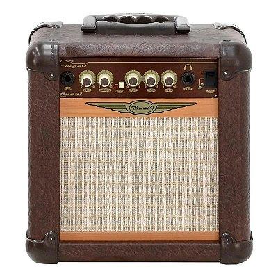 Amplificador para Guitarra 20W OCG-50-MR Marrom - Oneal