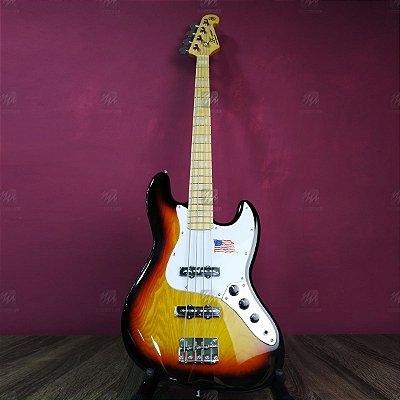 Baixo Jazz Bass 4 Cordas SJB75 3TS em ASH - SX