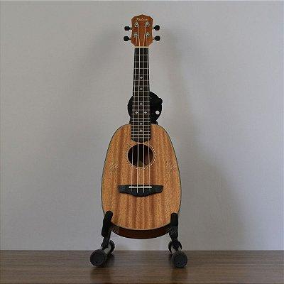 Ukulele Kalani Pineaple Concerto 24 Kayke Séries Mogno KAL 330 CP c/ Bag