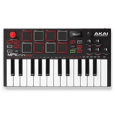 Teclado Controlador 25 Teclas MKP Mini Play Akai