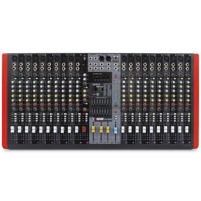Mesa de Som 20 Canais NVK-20M USB e Equalizador Grafico - Novik