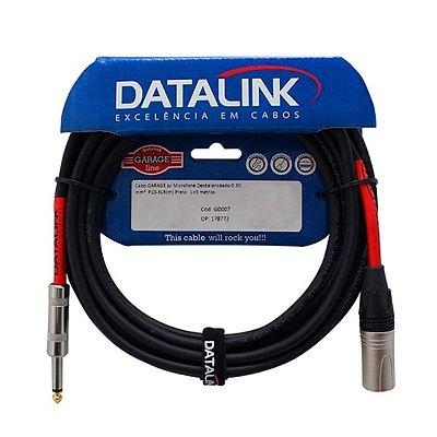 Cabo P10/XLR m Garage 5Mt - Datalink