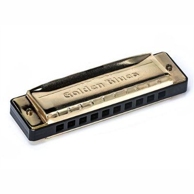 Harmonica Golden Blues em Sol 5020G - Hering