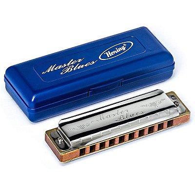 Harmonica Gaita Master Blues HB 9020C em C (Dó) - Hering