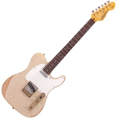 Guitarra Telecaster Vintage Icon Series V62MR AB Ash Blonde Captadores e Ferragem Wilkinson