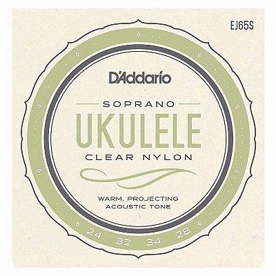 Encordoamento Ukulele Soprano EJ65S - D'addario