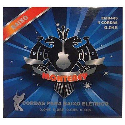 Encordoamento Baixo 4 Cordas 0.45 EMB445 - Monterey