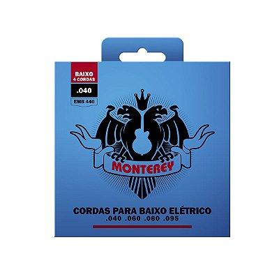 Encordoamento Monterey Baixo 4 Cordas 0.40 EMB440
