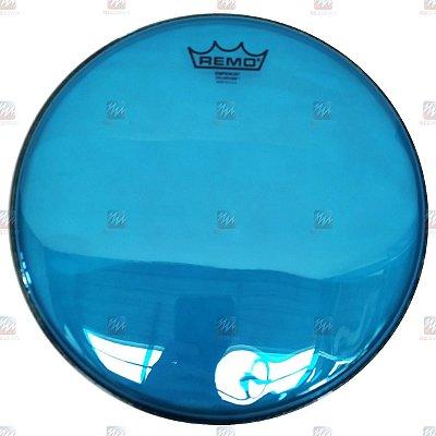 "Pele Colortone Azul 12"" Emperor Transparente BE-0312-CT-BU - Remo"