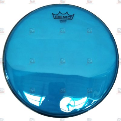 "Pele Colortone Azul 13"" Emperor Transparente BE-0313-CT-BU - Remo"
