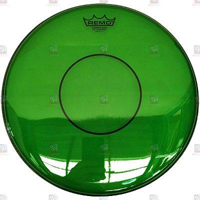 """Pele Colortone Verde Caixa 14"""" Powerstroke 77 Transparente P7-0314-CT-GN - Remo"""