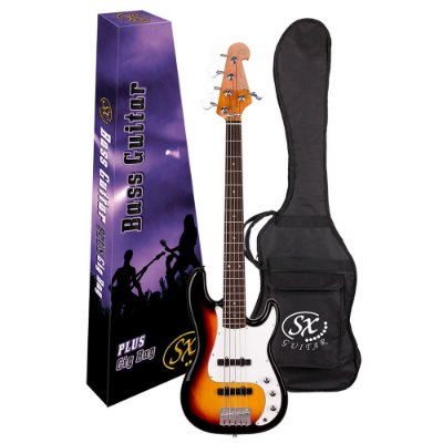 Baixo 5 cordas Precision Bass SPB62+5 C/ Bag BB400 3TS - SX