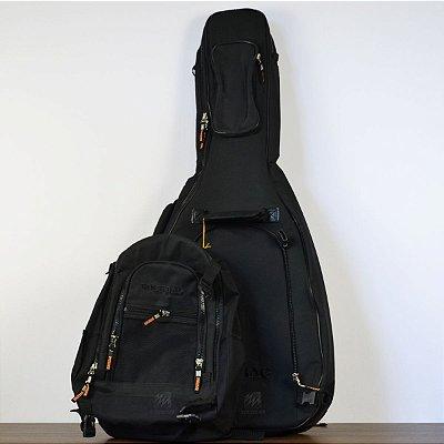 Bag para Violão Clássico CROSSWALKER c/ Mochila RB 20458 B - Rockbag