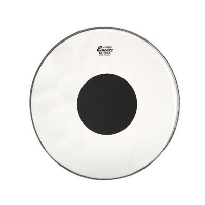 """Pele para Surdo 16"""" Controlled Sound c/ Circulo Preto EN-0316-CT Encore - Remo"""