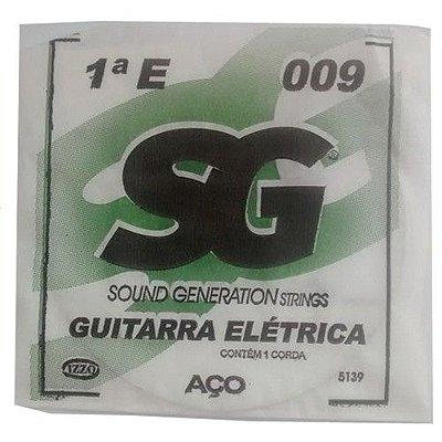 Corda Avulsa Guitarra 1ª MI 009 - SG