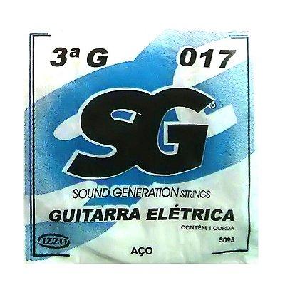 Corda Avulsa Guitarra 3ª SOL 017 - SG