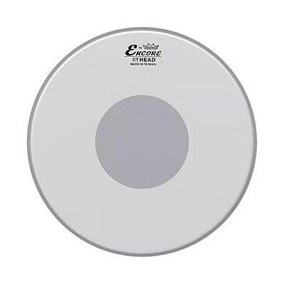 """Pele Pra Tom e Surdo 16"""" Encore Controlled Sound Porosa Com Circulo Preto EN-0116-CT - REMO"""