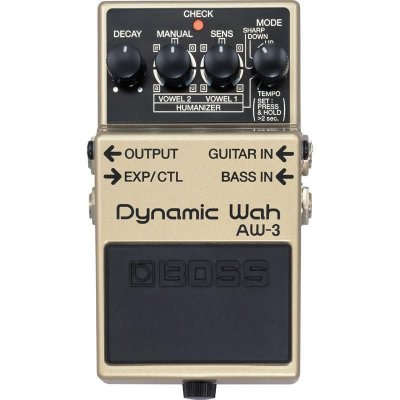 Pedal Dynamic Wah para Guitarra AW-3 - Boss
