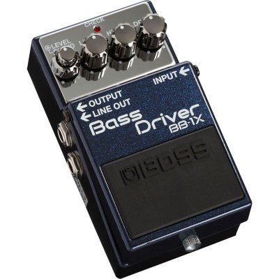 Pedal Driver para Baixo Bass Driver Boss BB-1X - Edição Especial