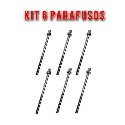 Kit 6 Parafusos de Afinação Bumbo de Bateria PAB 1 Unidade - C. Ibanez